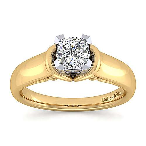 1 Carat Cushion Cut Engagement Rings  One Carat  Ritani