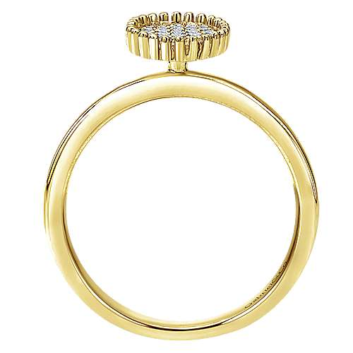 14k Yellow Gold Bombay Fashion Ladies