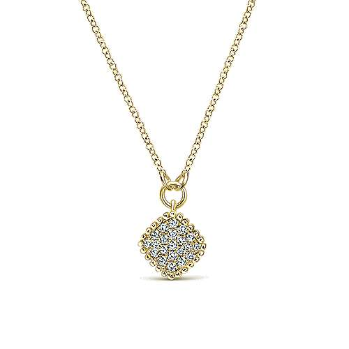 Gabriel - 14k Yellow Gold Bujukan Fashion Necklace