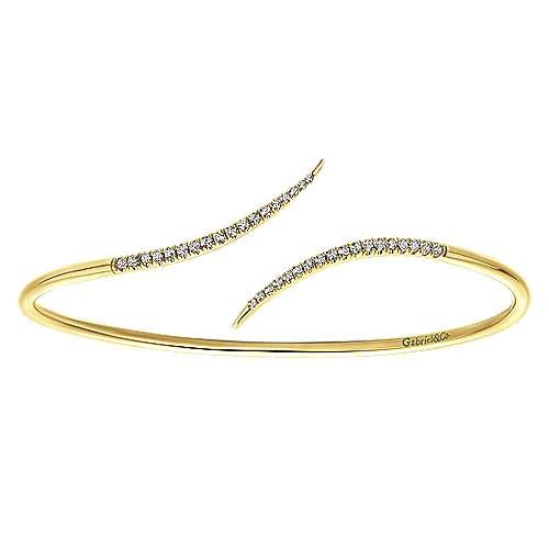 Gabriel - 14k Yellow Gold Byblos Bangle