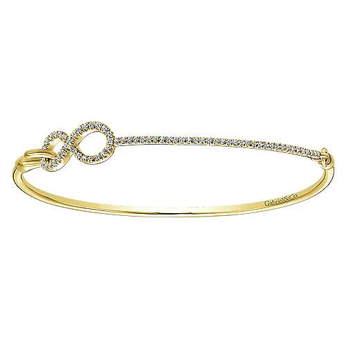 14k Yellow Gold Byblos Bangle
