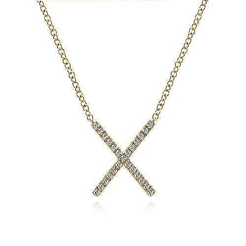 14k Yellow Gold Care Collection Fashion Necklace