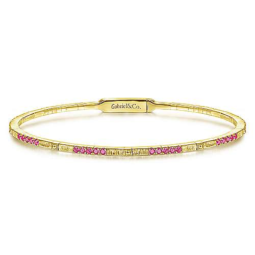 Gabriel - 14k Yellow Gold Demrue Bangle