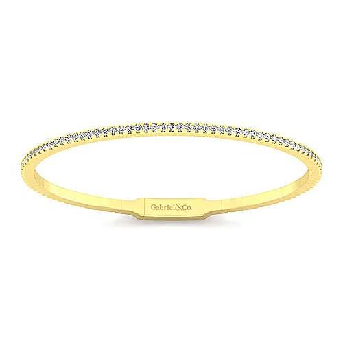 14k Yellow Gold Demure