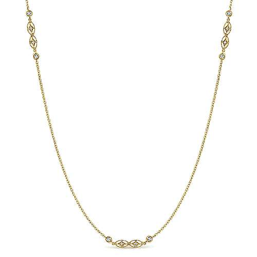 14k Yellow Gold Endless Diamonds Diamond By The Yard