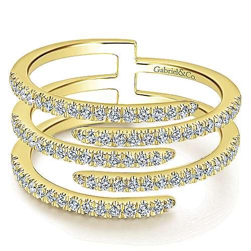 14k Yellow Gold Kaslique Fashion