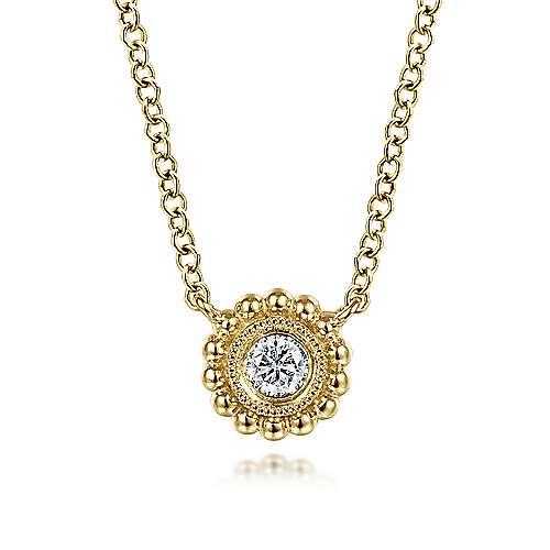 14k Yellow Gold Bombay Fashion