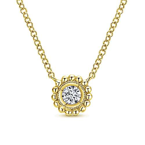14k Yellow Gold Bombay Fashion