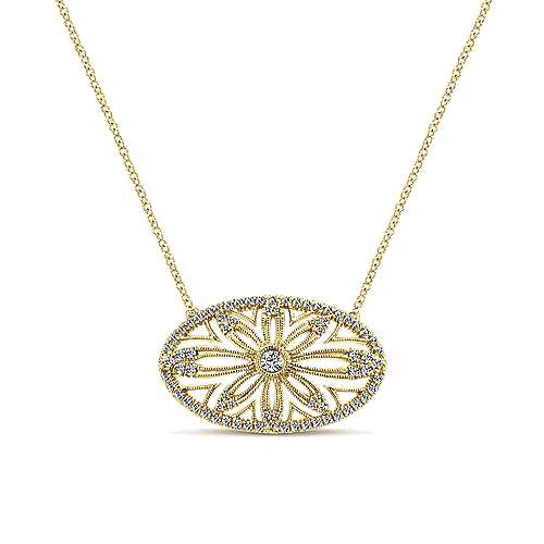 14k Yellow Gold Diamond Fashion