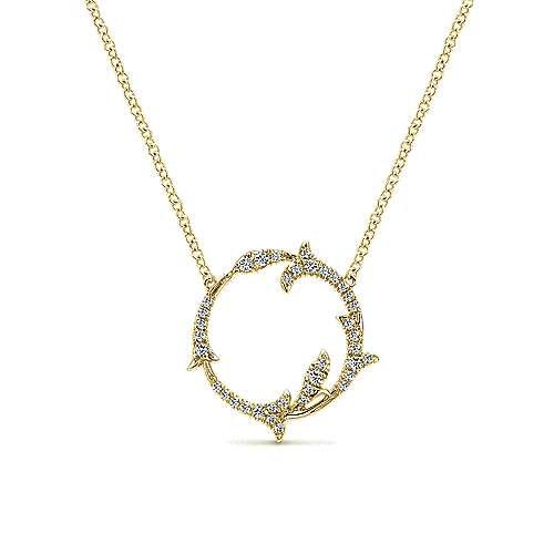 14k Yellow Gold Diamond Fashion