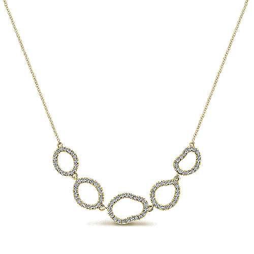 14k Yellow Gold Lusso Diamond Fashion