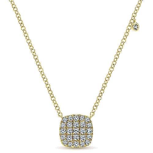 Gabriel - 14k Yellow Gold Silk Fashion Necklace