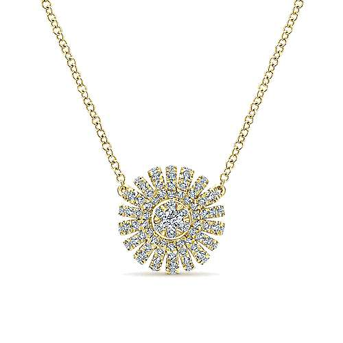 Gabriel - 14k Yellow Gold Stellare Fashion Necklace