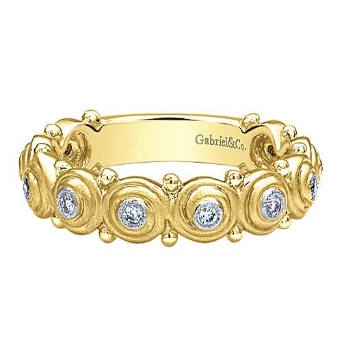 Gabriel - 14k Yellow Gold Ladies' Ring
