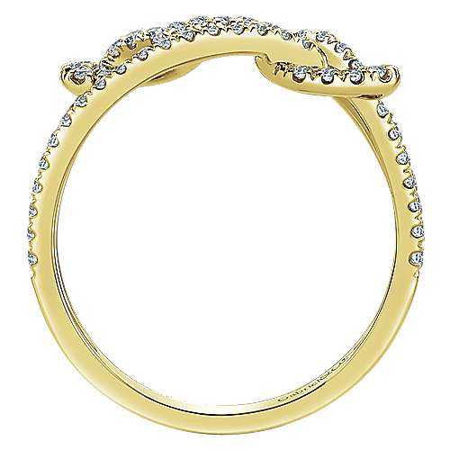 14k Yellow Gold Eternal Love Fashion Ladies