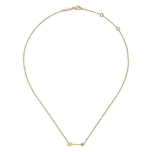 14k Yellow Gold Eternal Love Fashion Necklace angle 2