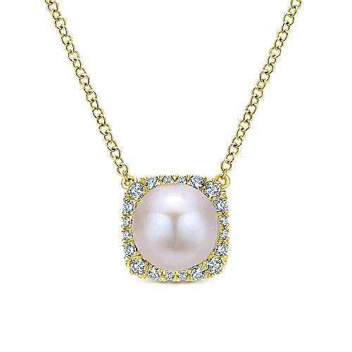 Gabriel - 14k Yellow Gold Grace Fashion Necklace