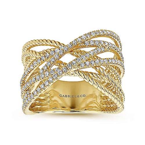 14k Yellow Gold Hampton Fashion Ladies