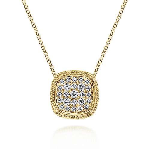 Gabriel - 14k Yellow Gold Hampton Fashion Necklace