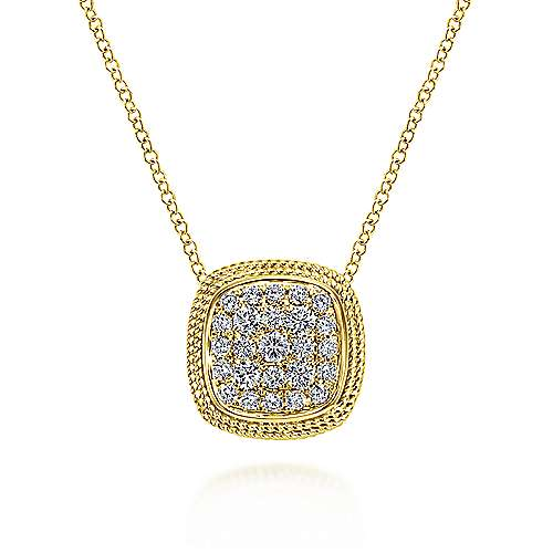 Gabriel - 14k Yellow Gold Hampton Loose Pendants Necklace