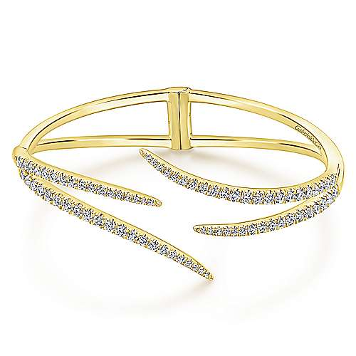 Gabriel - 14k Yellow Gold Kaslique Bangle