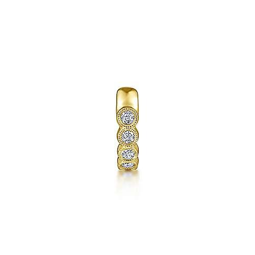 14k Yellow Gold Kaslique Earcuffs Earrings angle 2
