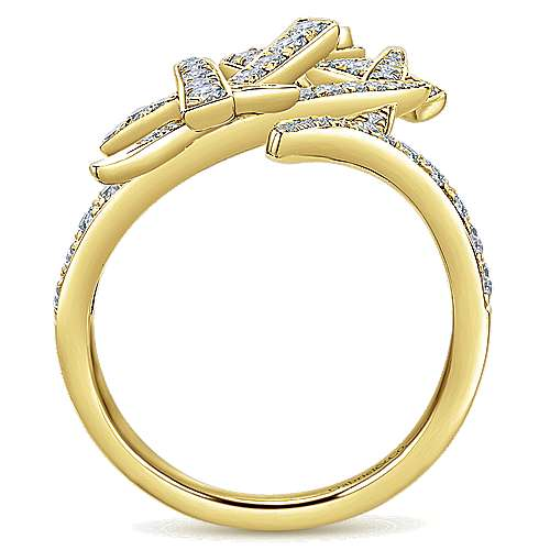 14k Yellow Gold Kaslique Statement Ladies