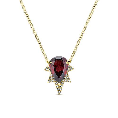Gabriel - 14k Yellow Gold Lusso Color Fashion Necklace
