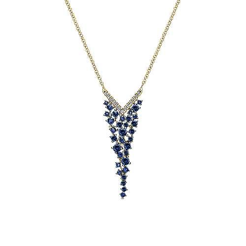 Gabriel - 14k Yellow Gold Lusso Color Fashion Necklace