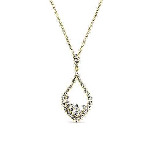 Gabriel - 14k Yellow Gold Lusso Fashion Necklace
