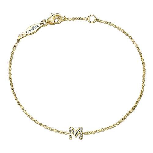 Lusso Initial Bracelet