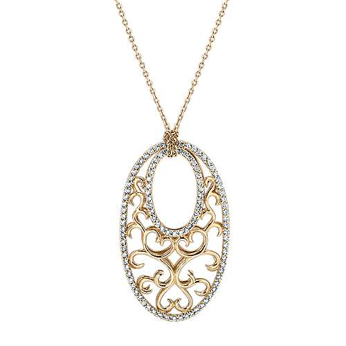 Gabriel - 14k Yellow Gold Mediterranean Fashion Necklace