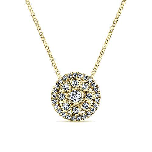 Gabriel - 14k Yellow Gold Messier Fashion Necklace