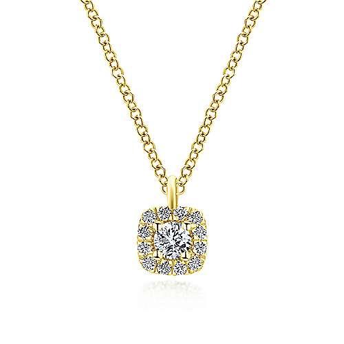 Gabriel - 14k Yellow Gold Messier Fashion Necklace