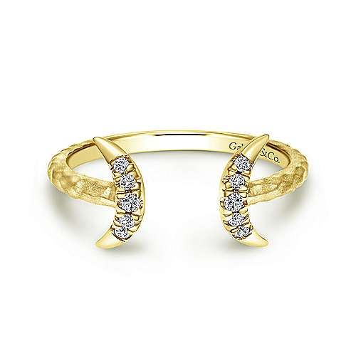 14k Yellow Gold  Midi
