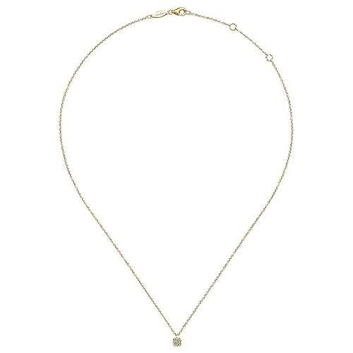 14k Yellow Gold Silk Fashion Necklace angle 2