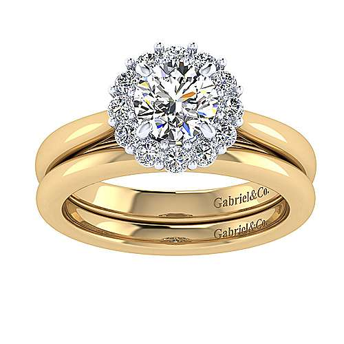 14k Yellow Gold Straight Wedding Band angle 4