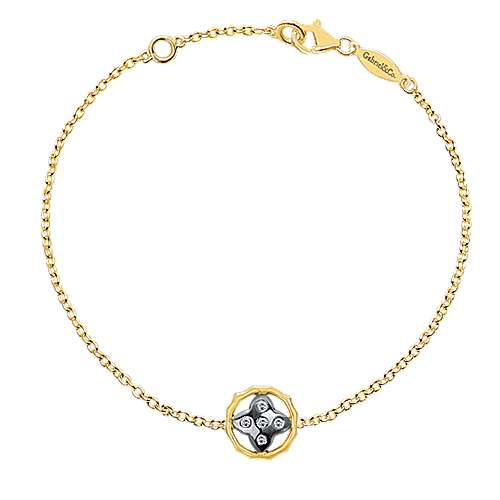 Gabriel - 14k Yellow Gold Trends Chain Bracelet
