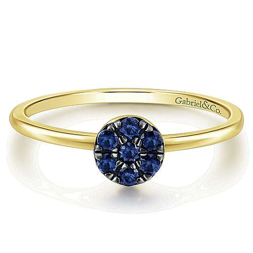 Gabriel - 14k Yellow Gold Trends Fashion Ladies' Ring