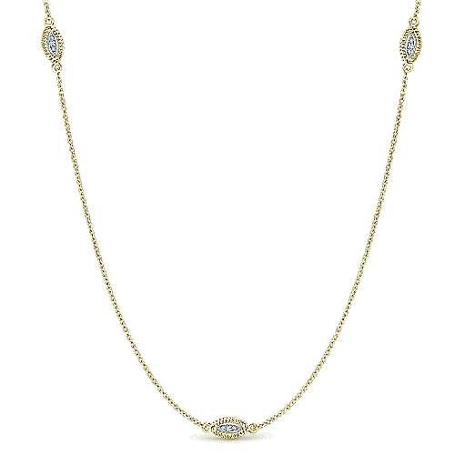 14k Yellow/white Gold Diamond Diamond By The Yard