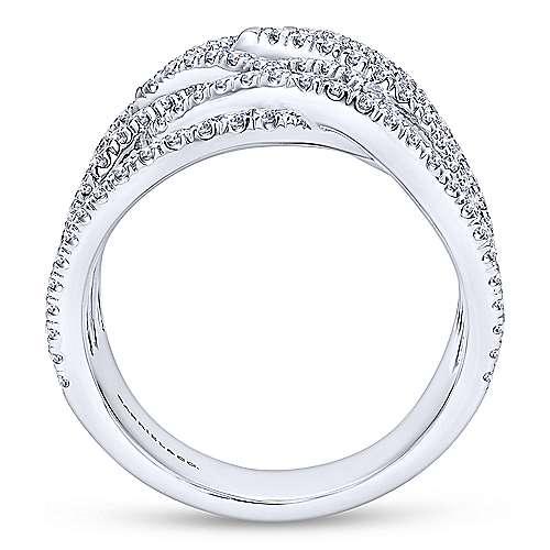 18K W. Gold Dia Ring angle 2