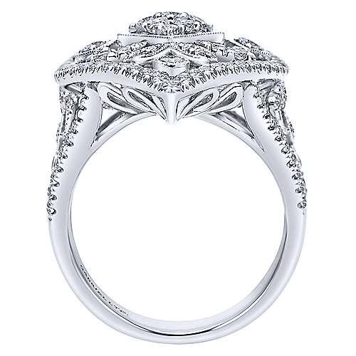 18K W.Gold Dia Ring  angle 2
