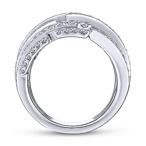 18K White Gold Fashion Ladies Ring