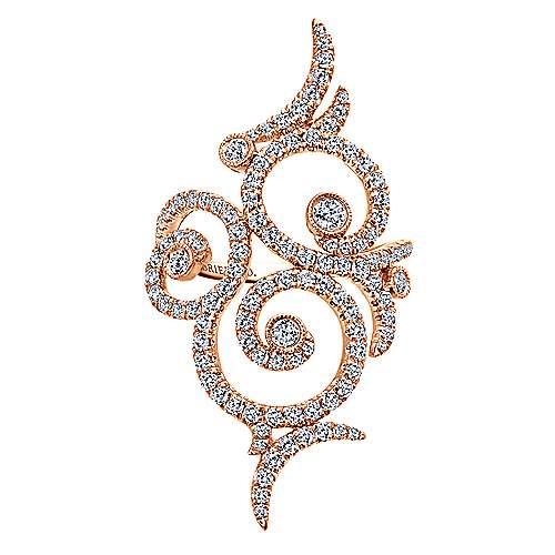 Gabriel - 18k Pink Gold Allure Fashion Ladies' Ring