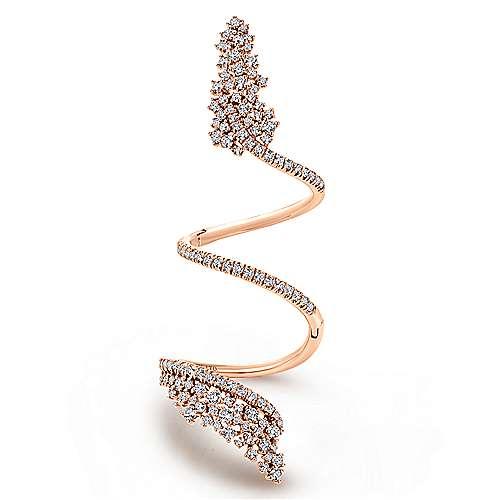 Gabriel - 18k Pink Gold Amavida Fashion Statement Ladies' Ring