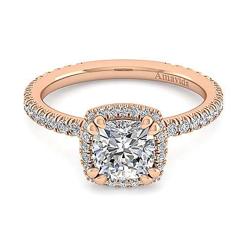 18k Pink Gold Contemporary