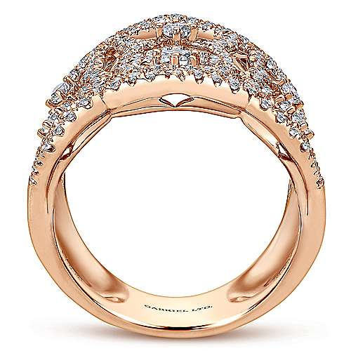 18k Rose Gold Allure Statement Ladies