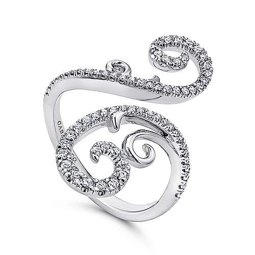 18k White Gold Allure Fashion Ladies