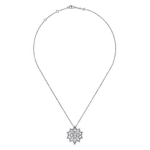 18k White Gold Amavida Fashion Fashion Necklace angle 2