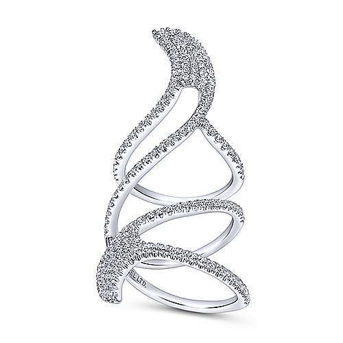 18k White Gold Amavida Fashion Statement Ladies